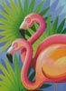 Flamingos - Cross Stitch Chart