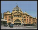 Flinders Street Station, Melbourne - Cross Stitch Chart