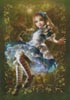 Floating Alice - Cross Stitch Chart