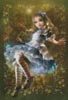 Floating Alice (Large) - Cross Stitch Chart
