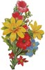 Floral Bouquet 5 - Cross Stitch Chart