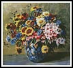 Floral Display 4 - Cross Stitch Chart
