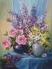 Floral Splendour - Cross Stitch Chart