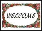 Floral Welcome - Cross Stitch Chart