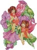 Flower Fairies 4 - Cross Stitch Chart
