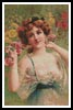 Flower Lady 3 - Cross Stitch Chart