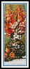 Flowers and Fruit Bookmark - Cross Stitch Chart