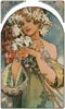 Flowers by Mucha - Cross Stitch Chart