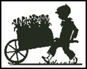 Flower Seller - Cross Stitch Chart