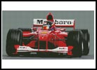 Formula 1 Car - Cross Stitch Chart