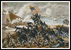 The Storming of Fort Wagner - Cross Stitch Chart