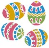 Four Easter Eggs - Cross Stitch Chart