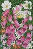 Foxgloves - Cross Stitch Chart