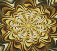 Fractal Abstract Crop - Cross Stitch Chart