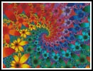 Fractal Flowers - Cross Stitch Chart