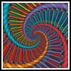 Fractal Spiral - Cross Stitch Chart