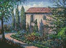 A French Garden - Cross Stitch Chart