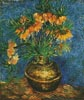 Fritillaries in a Copper Vase - Cross Stitch Chart