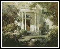 Front porch in dappled sunlight - Cross Stitch Chart