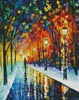 Frozen Path (Large) - Cross Stitch Chart