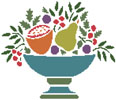 Fruit Bowl - Cross Stitch Chart