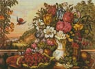 Fruits and Flowers - Cross Stitch Chart