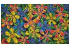 Funky Flowers - Cross Stitch Chart