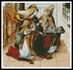 Gabriel with St Emidius - Cross Stitch Chart
