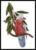 Galah - Cross Stitch Chart