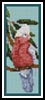 Galah Bookmark - Cross Stitch Chart
