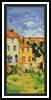 Gardanne Bookmark - Cross Stitch Chart
