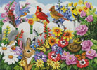 Garden Gossip (Large) - Cross Stitch Chart