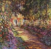 Garden Path at Giverny - Cross Stitch Chart
