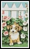 Garden Puppy - Cross Stitch Chart