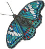 Gaudy Baron Butterfly (No Background) - Cross Stitch Chart