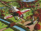 Gee Bee over New England - Cross Stitch Chart