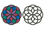 Geometric Design 1 - Cross Stitch Chart