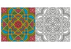 Geometric Design 2 - Cross Stitch Chart