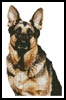 German Shepherd - Cross Stitch Chart