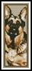 German Shepherd Bookmark - Cross Stitch Chart