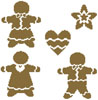 Gingerbread - Cross Stitch Chart