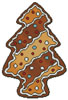 Gingerbread Christmas Tree - Cross Stitch Chart