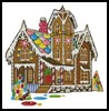 Gingerbread House - Cross Stitch Chart