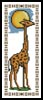 Giraffe Bookmark - Cross Stitch Chart