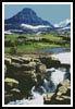 Glacier, Montana - Cross Stitch Chart