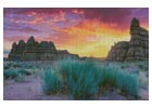 Goblin Valley, Utah - Cross Stitch Chart