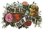 God Bless our Home 2 - Cross Stitch Chart