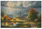 God Shed his Grace - Cross Stitch Chart