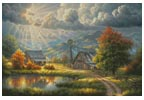 God Shed his Grace (Large) - Cross Stitch Chart