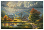 God Shed his Grace (Medium) - Cross Stitch Chart